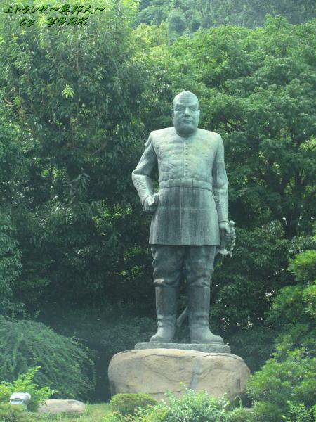 3416西郷隆盛の銅像140812