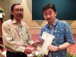 MALAYSIA 2014 メダル拝領