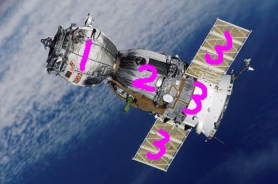 ソユーズを分解