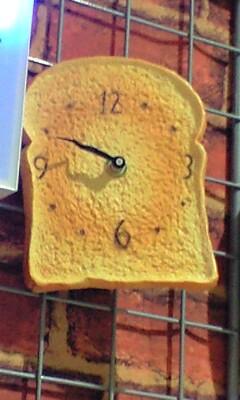 トースト時計