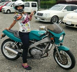 バイク復活!