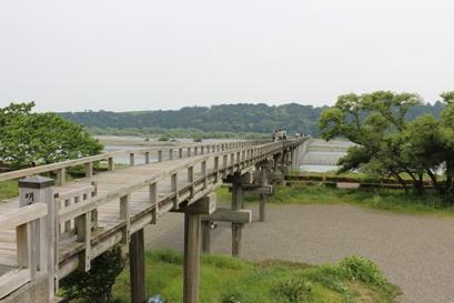 蓬莱橋_北岸上方