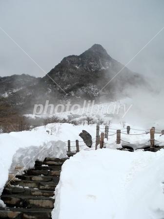 3017401 雪の大涌谷