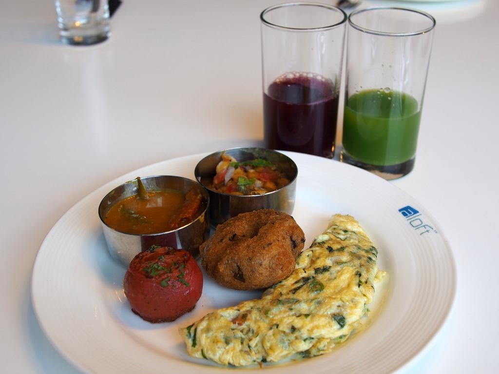 ■ バンガロール/インド ホテルの朝食