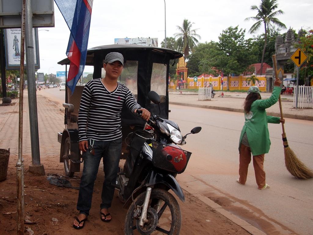 ■ いざ、アンコール遺跡へ Siem Reap