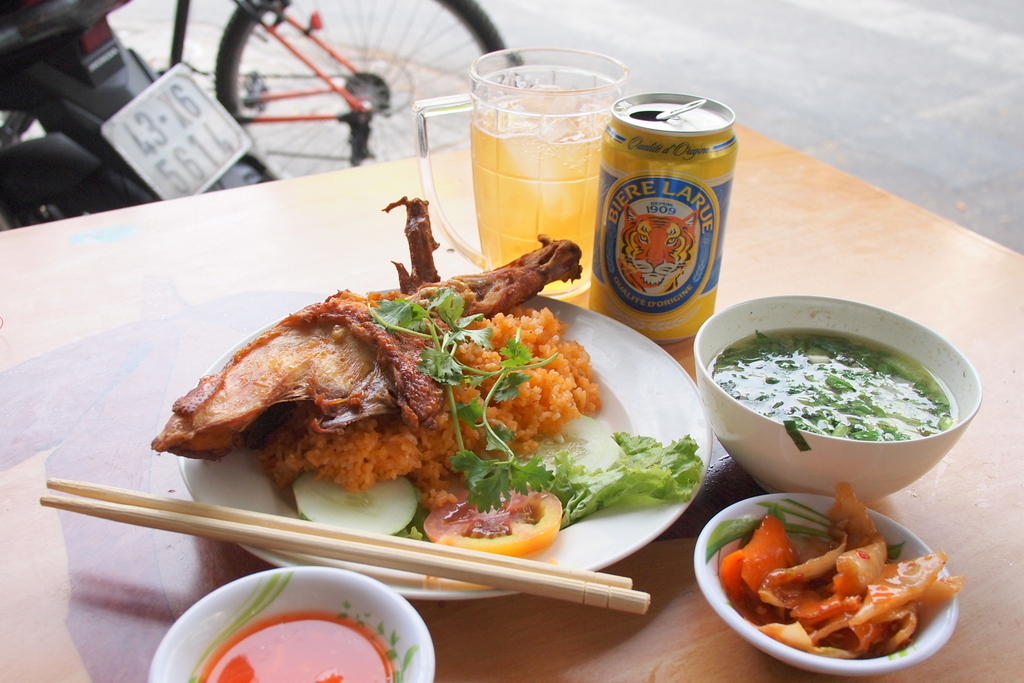 ■ Quán Cơm Gà A.HẢI/ ダナンの鶏ごはん
