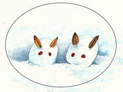 雪うさぎ 01