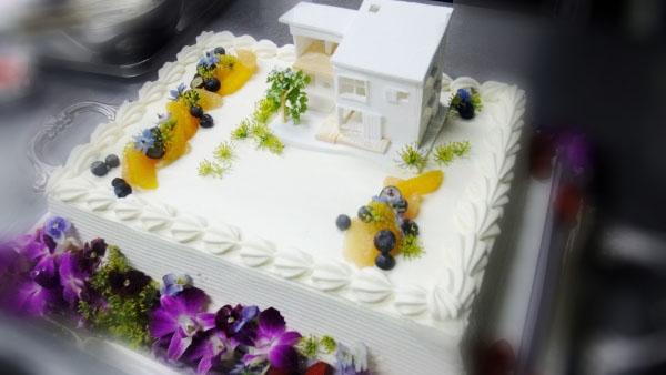 特注ウエディングケーキ