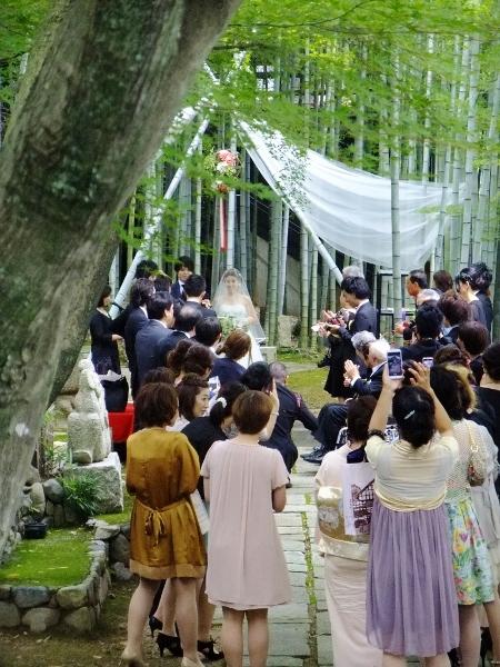 竹林結婚式