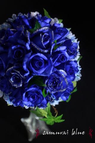 青いバラ 青いバラブーケ