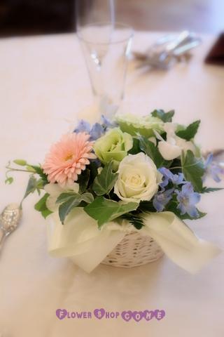 夏 結婚式 花