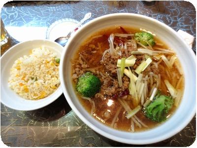 台湾ラーメン+炒飯