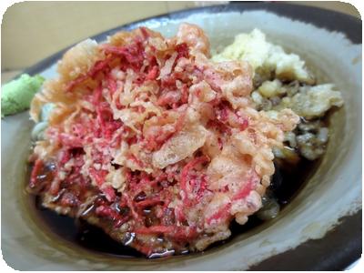 カレーセット(フルサイズ)+紅生姜天