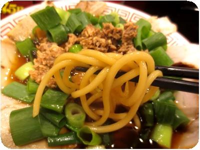 チャーシュー麺(小盛り)