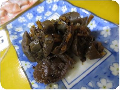 なすの生姜煮