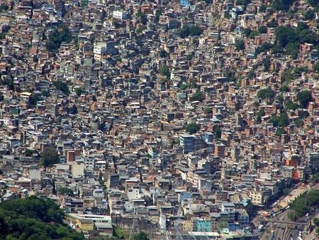 ブラジルのエネルギーの源、ファヴェーラ