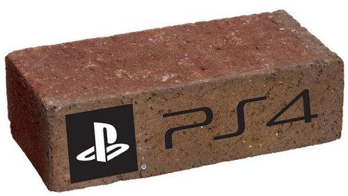 PS4レンガ