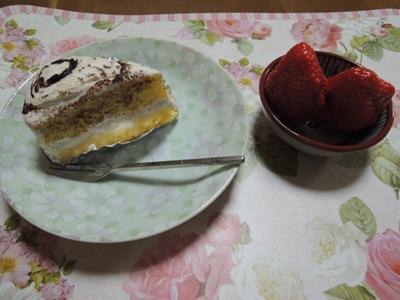 食後のデザート