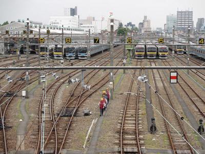 ひとりで電車観察