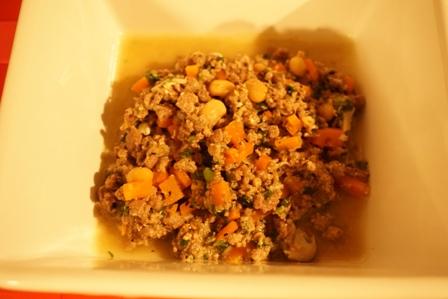 エゾシカご飯