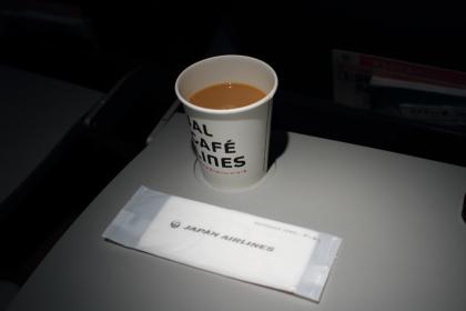 JAL 機内サービスコーヒー