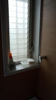 浴室ジャロジー