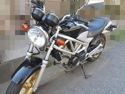 バイク鍵作製_VTR250