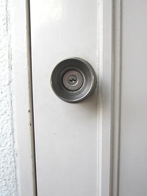 足立区 玄関鍵交換14525