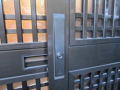 引戸鍵交換14522