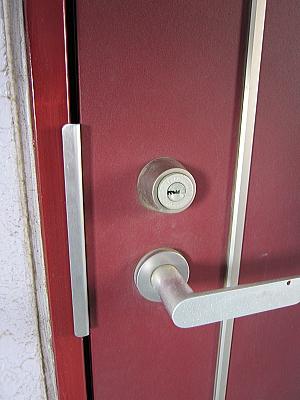 マンションの玄関鍵交換14723