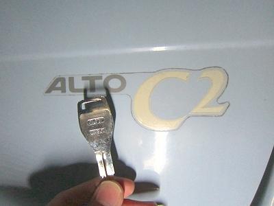 車の鍵作製 アルト