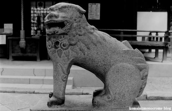 安居神社(大阪市天王寺区逢坂阪)1