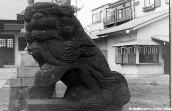 新堀日枝神社(江戸川区新堀)1