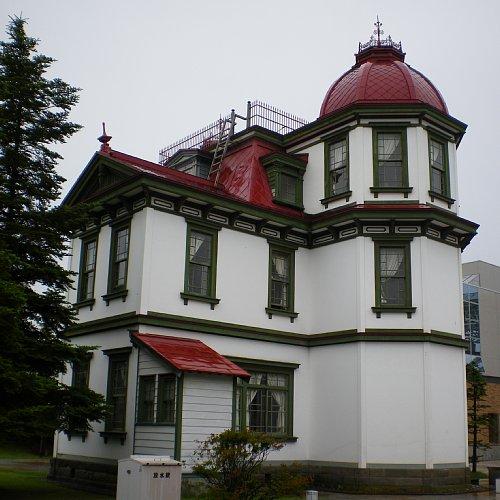 旧弘前市立図書館・側面