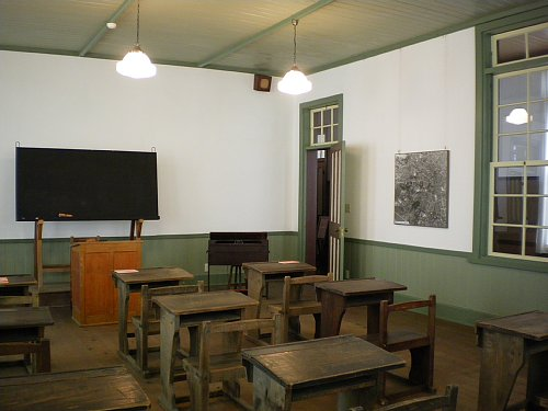 鏡ヶ丘記念館・旧図書室