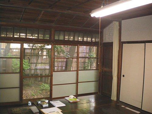 成瀬仁蔵邸・1階8帖間