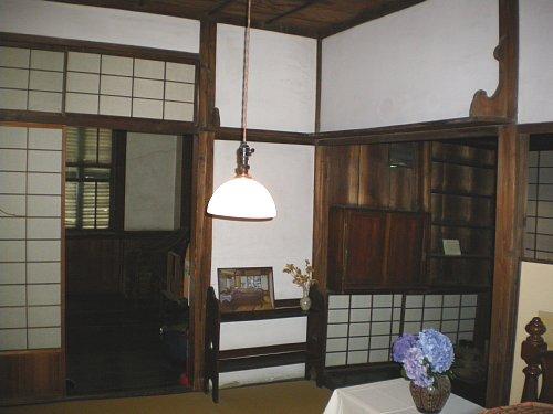 成瀬仁蔵邸・2階寝室2