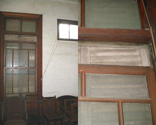 成瀬仁蔵邸・2階洋風書斎窓