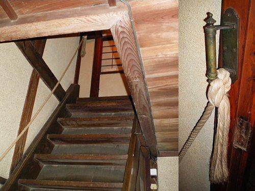 成瀬仁蔵邸・階段