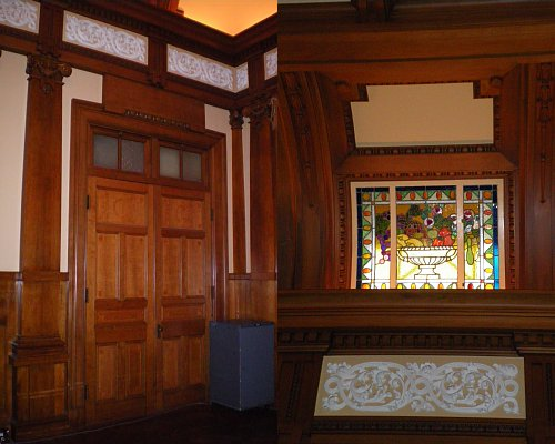大阪市中央公会堂・小集会室 扉と装飾