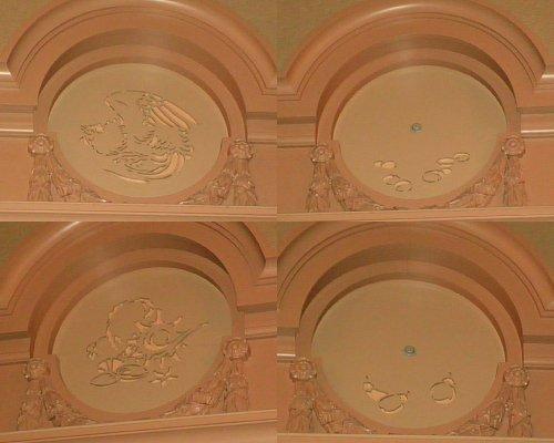 大阪市中央公会堂・中集会室装飾