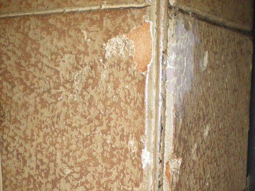 綿業会館・本館会員食堂壁