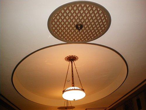 綿業会館・本館会議室天井