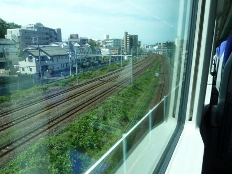 常磐線から武蔵野線へ