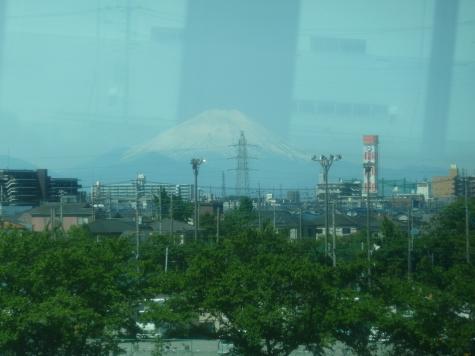武蔵野線からの富士山