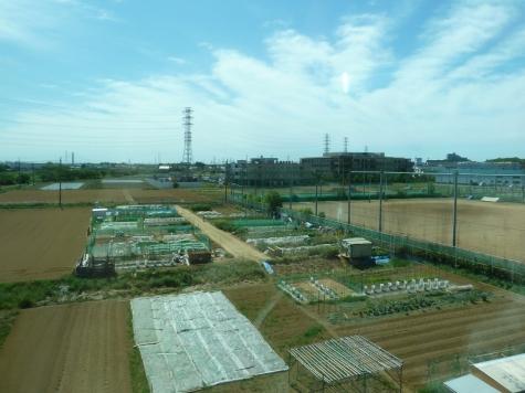 武蔵野線からの風景