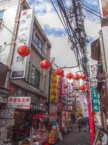 横浜 中華街にて【HDR】