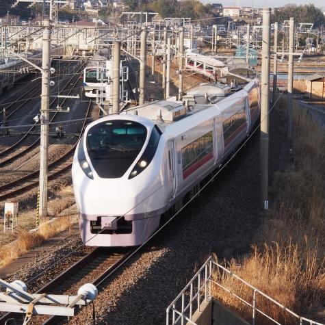 E657系 電車 特急「フレッシュひたち48号」