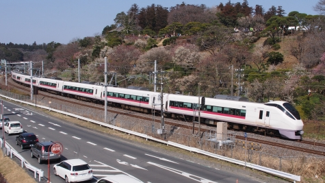 E657系 電車 特急「フレッシュひたち13号」