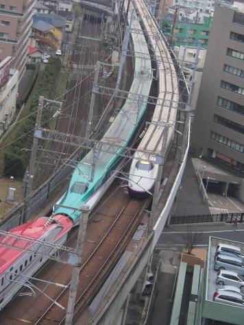 東北新幹線 E5系+E6系 やまびこ206号 & E2系